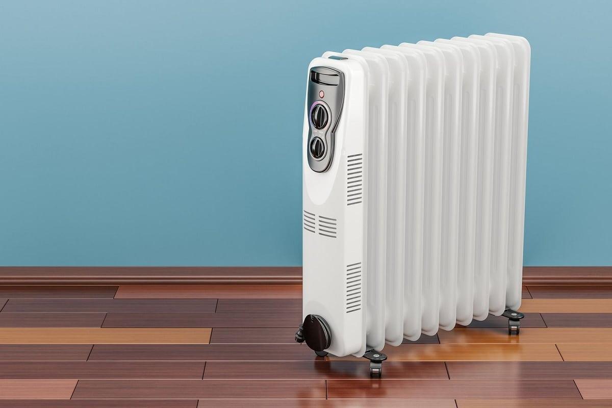 Eficiência energética de um radiador a óleo