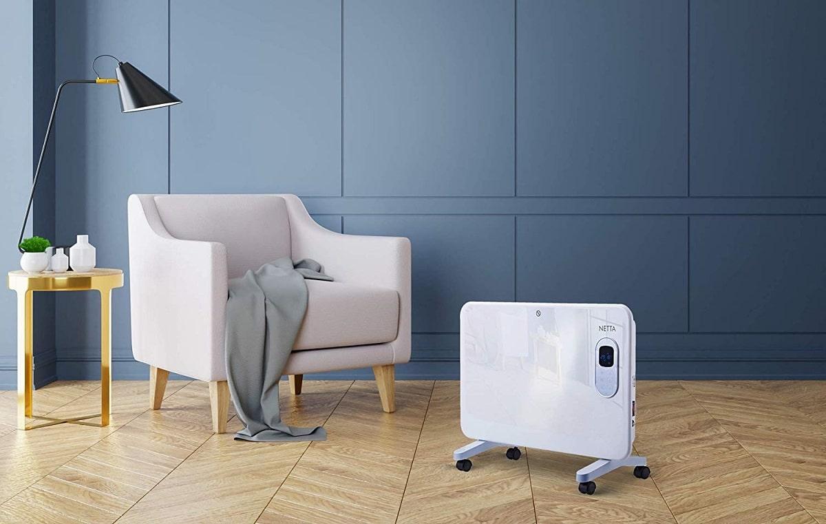 Low consumption electric radiator