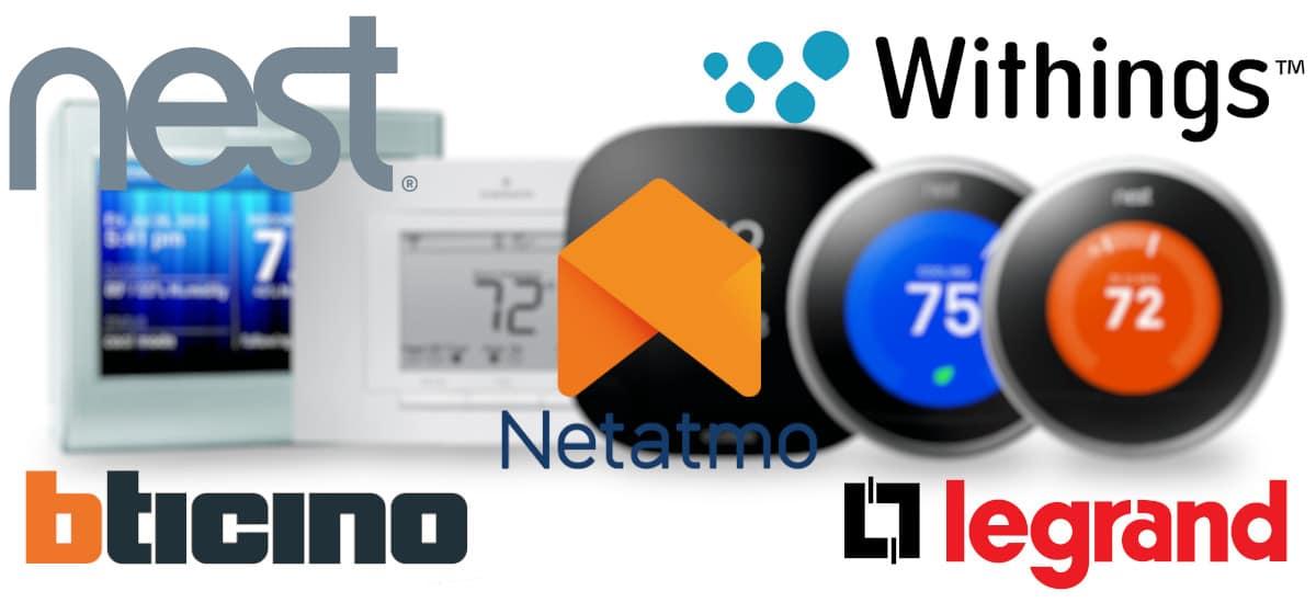 Les meilleures marques de thermostats wifi