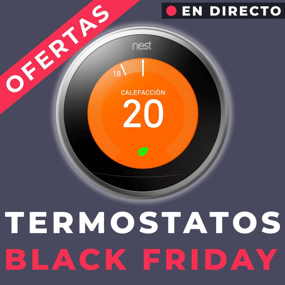 termostatos black friday ofertas